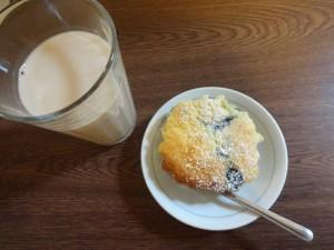 ブルーベリーチーズカップケーキ