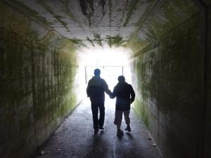 トンネル探検