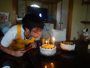瀬戸さん誕生日