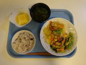 鮭と野菜炒め