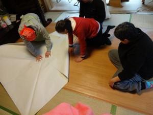 巨大折り紙